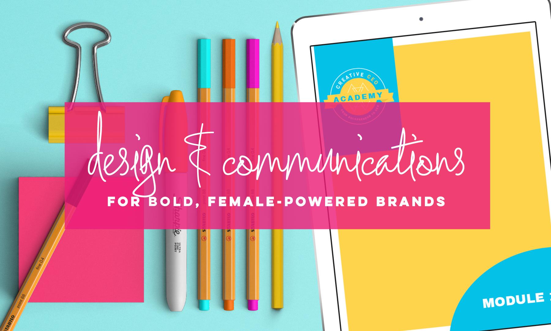 Design, Copy & Content | SarahEutsler.com